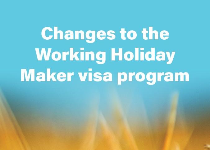 """019年7月1日开始可以累积第三年澳洲打工度假签证续签计划"""""""
